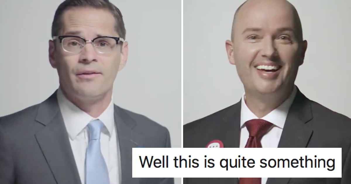 These rival politicians went viral with this joint ad because they're actually nice to each other - the poke