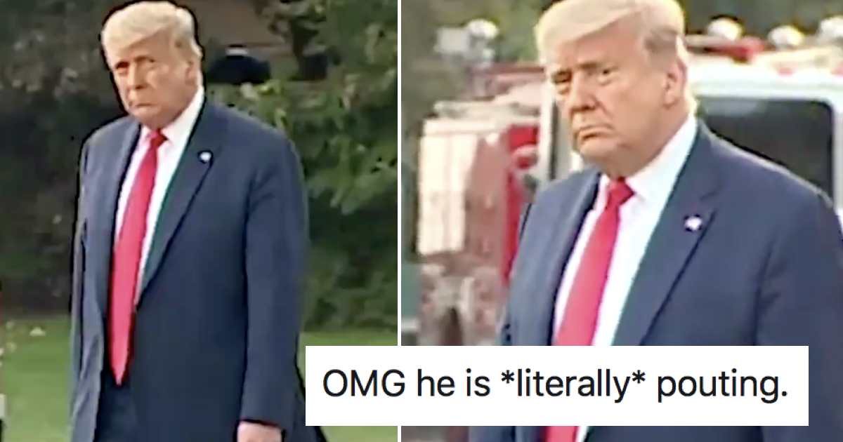 People can't get enough of Donald Trump's comedy sad face after an interview gone wrong – 9 favourite takedowns