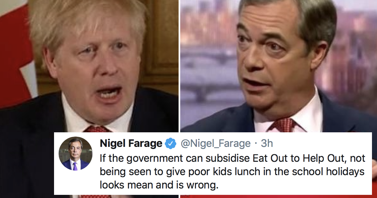 Nigel Farage just made a point that everyone agrees with and people are confused – 5 favourite responses - the poke