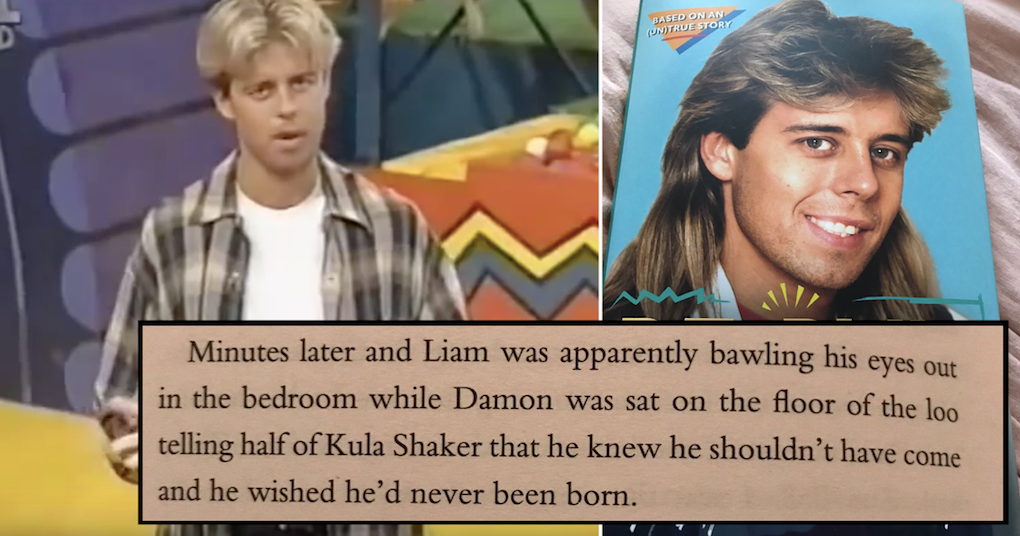 Pat Sharp's 'Re-Run the Fun' is surely the most bizarrely funny thing you'll read this week