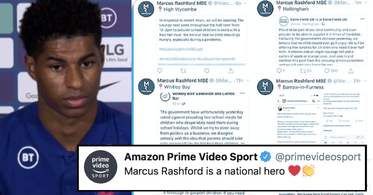 Amazon praised Marcus Rashford and it didn't end well for them – 5 favourite takedowns - the poke