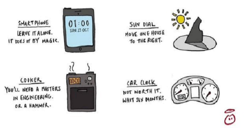 British clocks have gone back one hour – our 15 favourite funny takes
