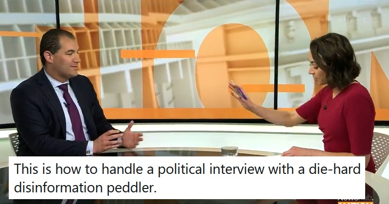 This interviewer demonstrating how to cut through political BS is a thing of beauty