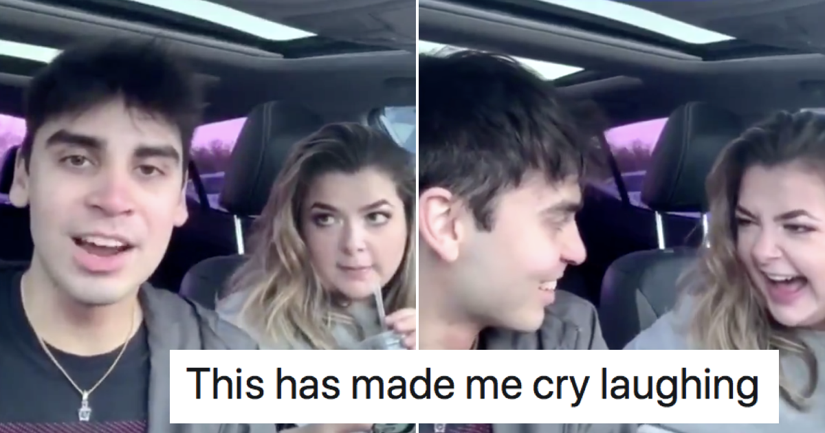 This woman laughing at her 'influencer' friend's video attempt is simply wonderful