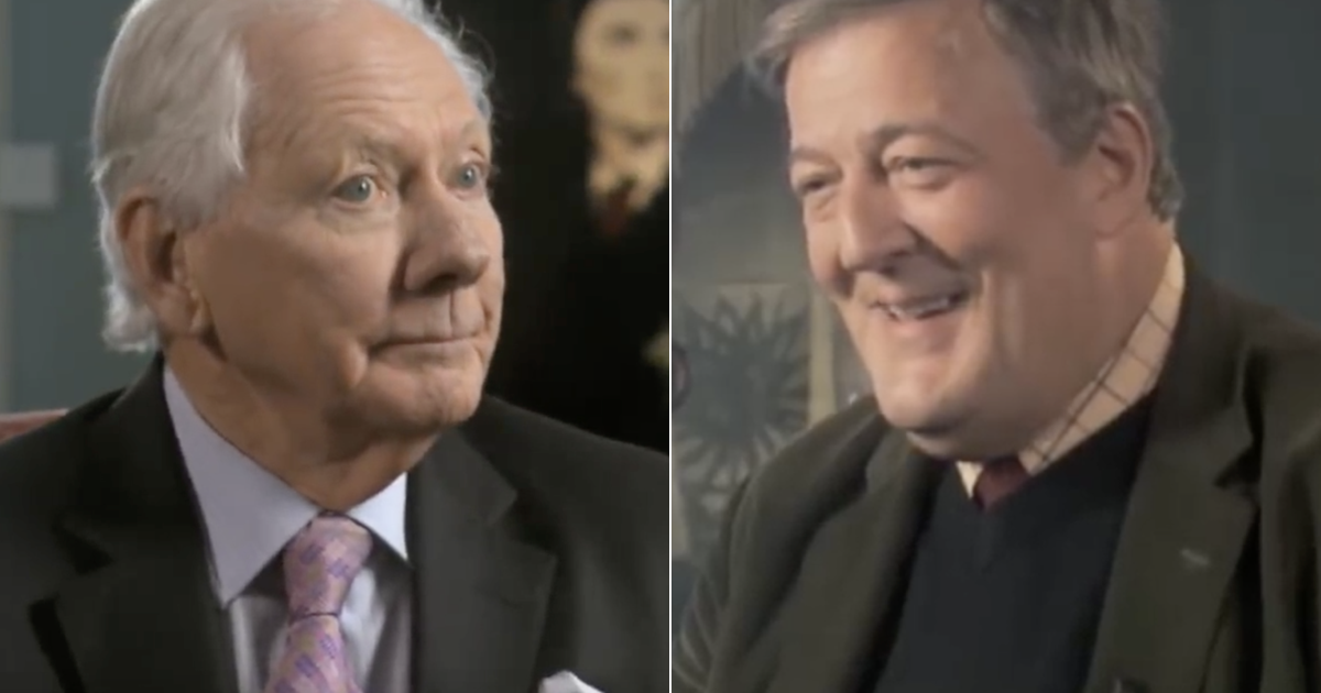 This clip of what Stephen Fry would say to God has just gone viral all over again because, well, watch