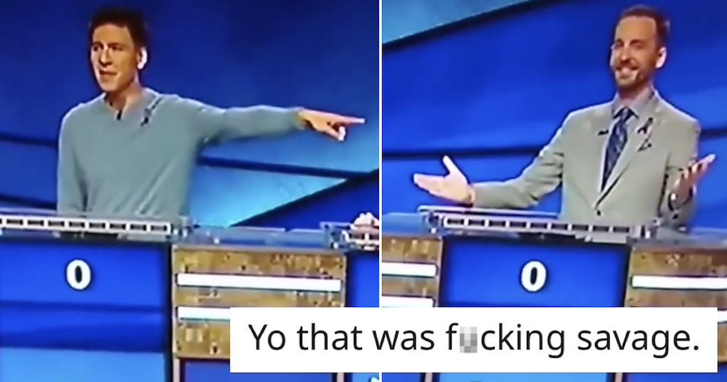 This brutal takedown of a fellow gameshow contestant is hilarious - the poke