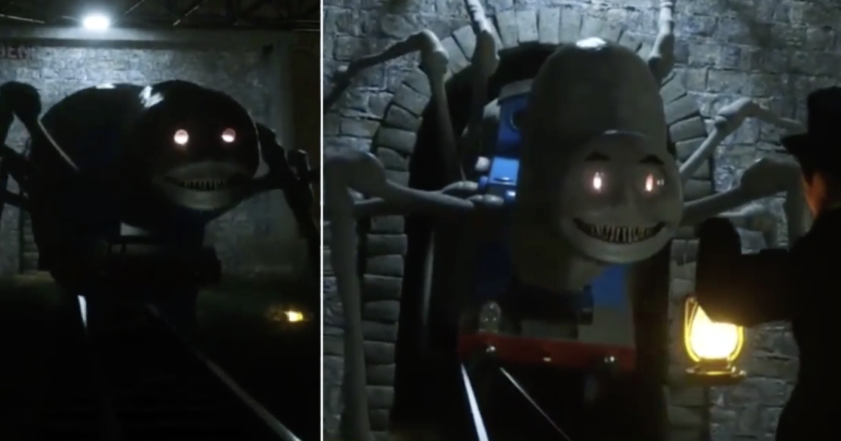 'Thomas the Scream Engine' is giving people nightmares - the poke
