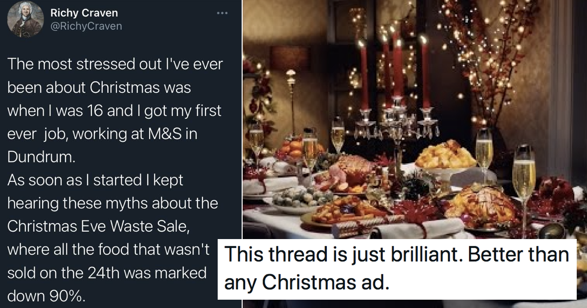 This hilarious story of last-minute Christmas dinner shopping is simply glorious - the poke