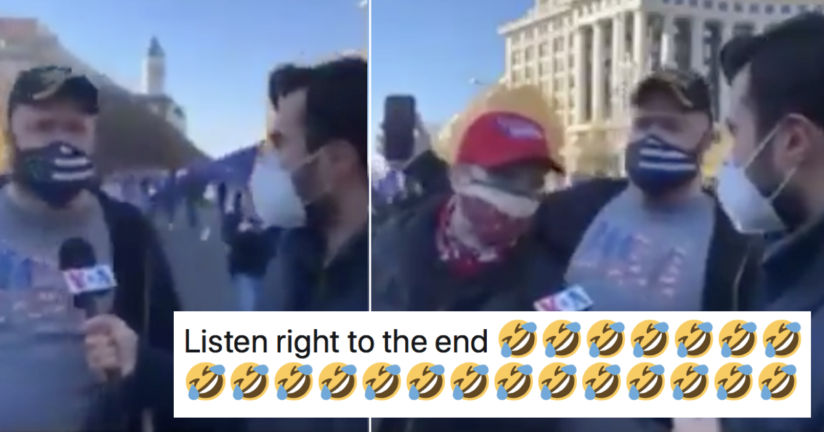 These Donald Trump supporters arguing about the election just gets funnier and funnier