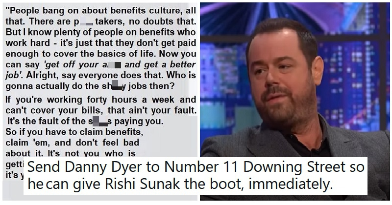 Danny Dyer talks more sense than the government – Episode 137