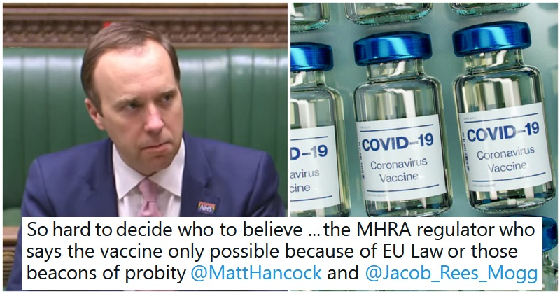 12 takedowns of the Tory MPs caught out lying that Brexit helped secure the vaccine - the poke