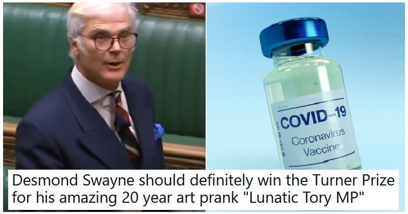 People aren't buying into this Tory MP's anti-vax panic – our 9 favourite reactions - the poke