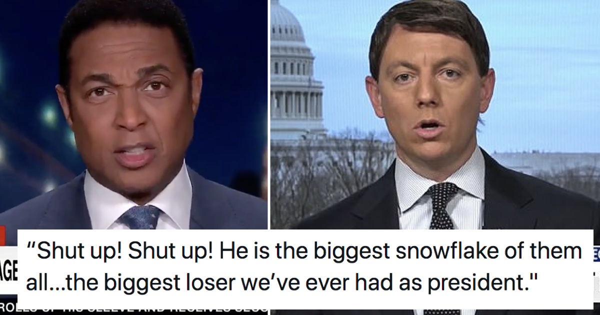 A Trump aide said the president was the 'most masculine ever' and CNN's Don Lemon wasn't having it