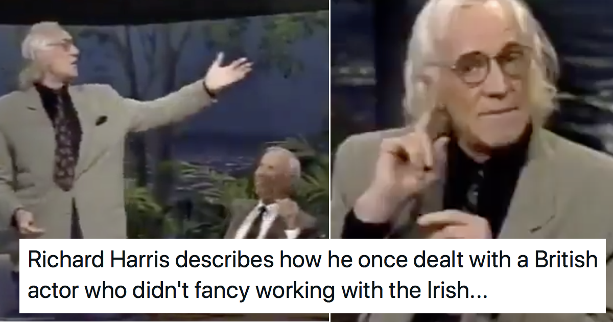 Richard Harris's brilliant tale of revenge has gone viral all over again because it's so good