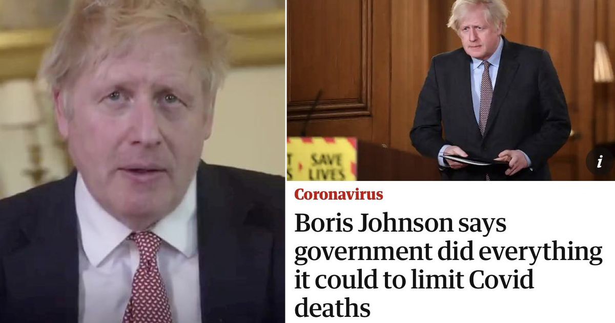 'Boris Johnson: A tragedy in four acts' went viral because it speaks volumes - the poke