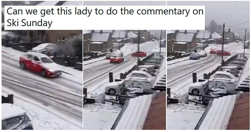 Yorkshire's snow got the better of drivers – and the commentary is definitely NSFW - the poke