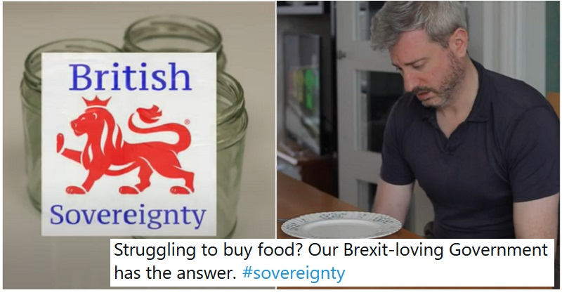 Larry and Paul's 'government' advert for sovereignty is as funny as it is bleak - the poke