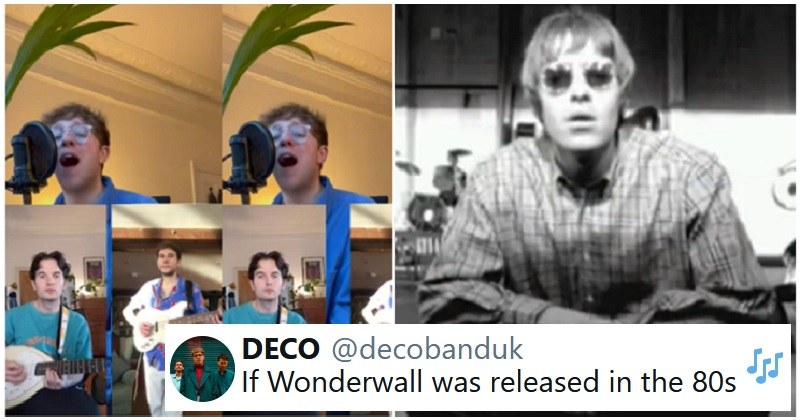 'If Wonderwall was released in the 80s' - the poke