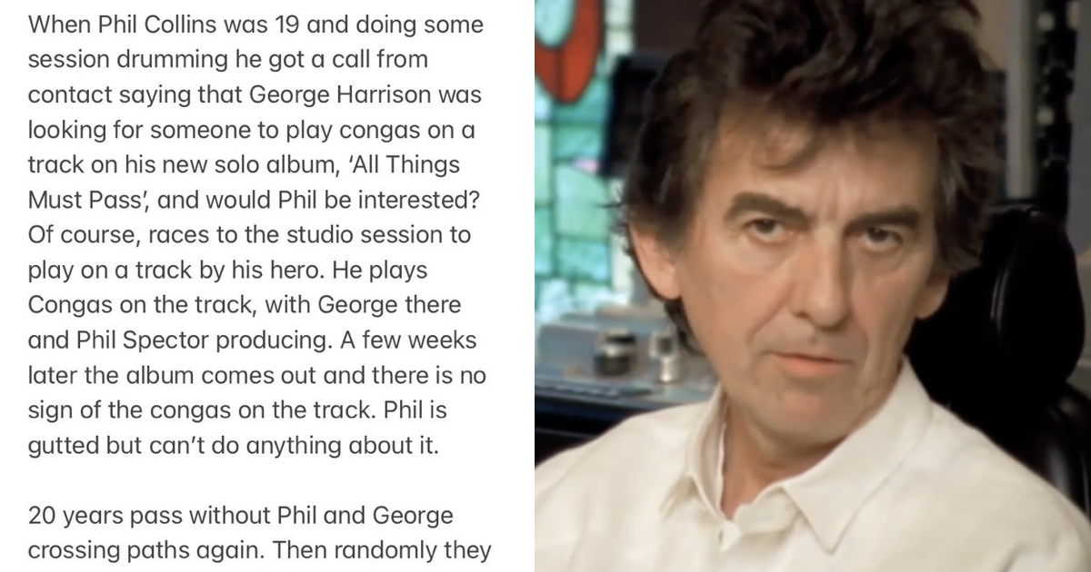 'Anyone in any doubt who the coolest Beatle was, read this George Harrison story …' - the poke