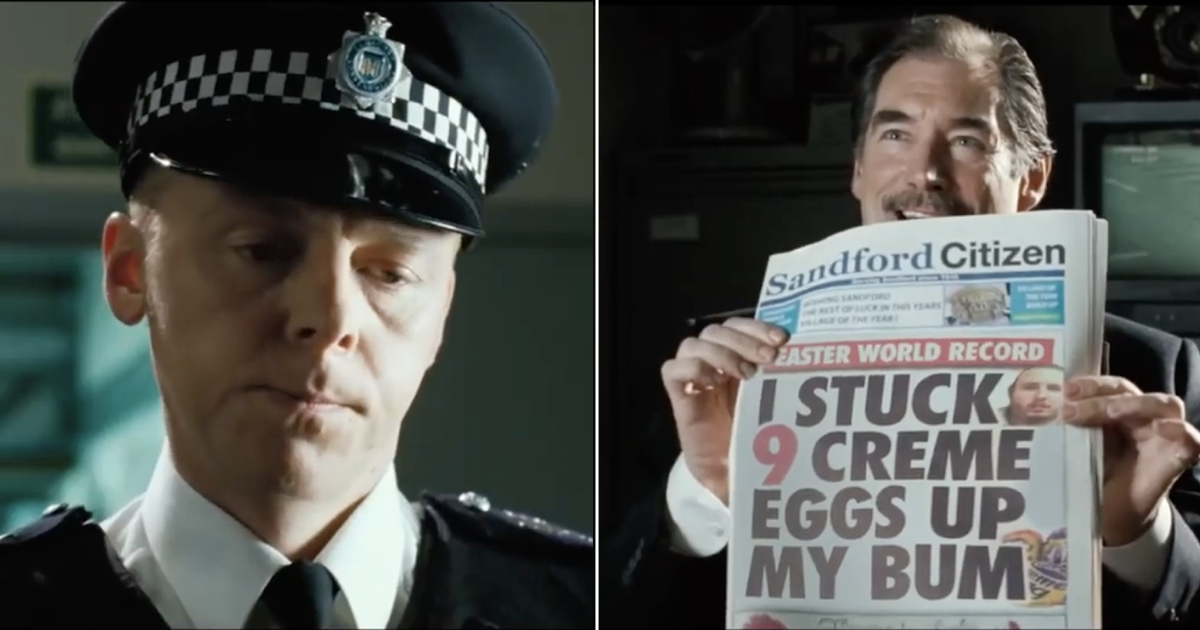 These movie newspaper headlines replaced by the Sunday Sport is simply brilliant - the poke