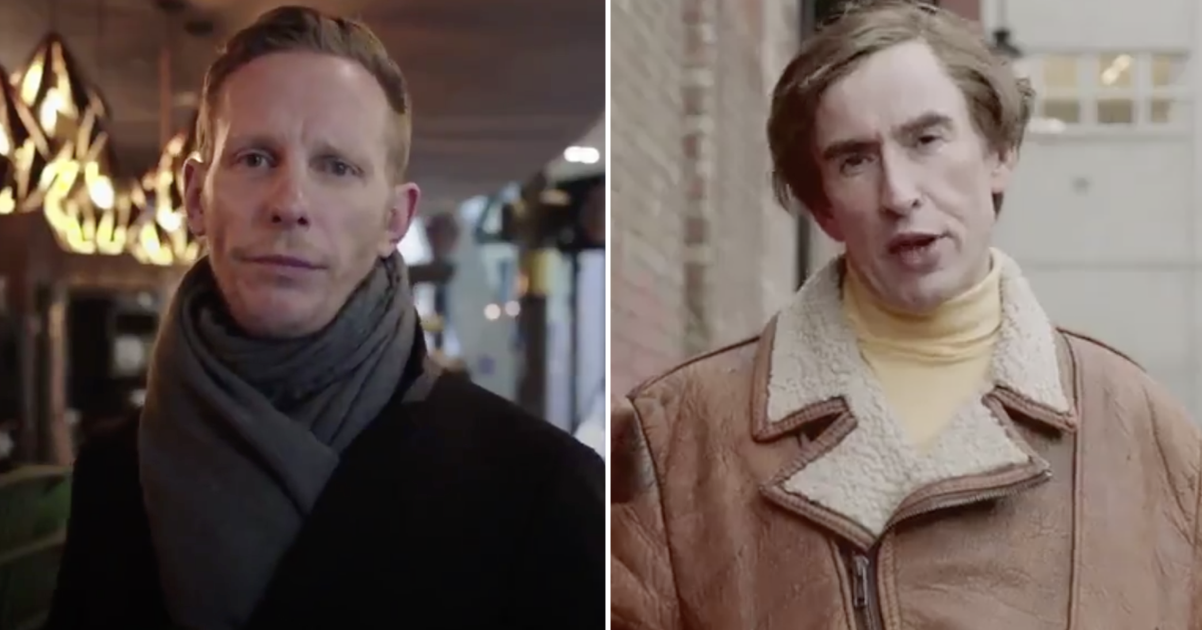 Laurence Fox announcing his London mayoral candidacy is so like Alan Partridge it's like a tribute video - the poke