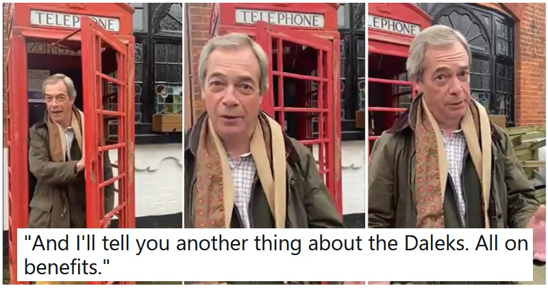 Nigel Farage is quitting elected politics and selling personalised videos