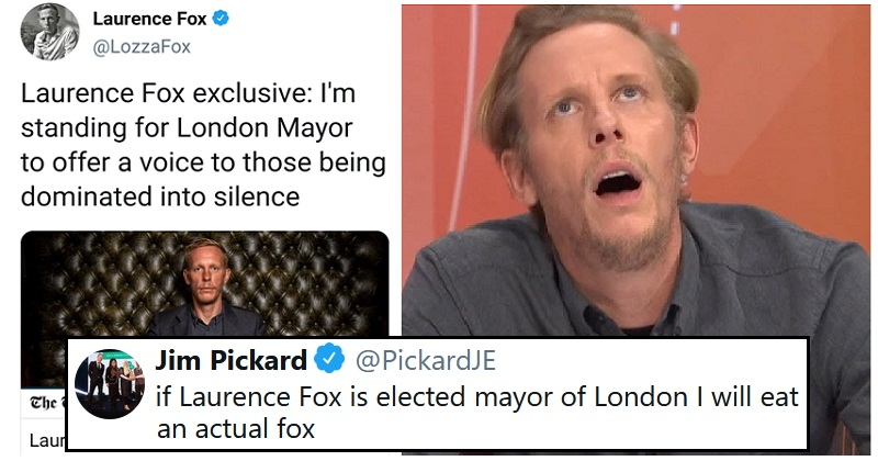 Laurence Fox is running to be London Mayor – our 11 favourite lost votes - the poke