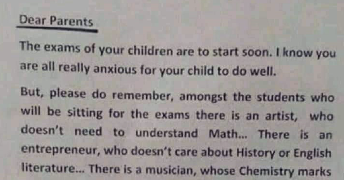 This teacher's letter reassuring anxious parents (and their kids) went wildly viral