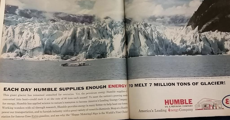 This oil company advert from nearly 60 years ago is a proper jaw-dropper - the poke
