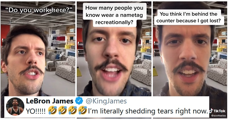 This comedian claps back at entitled IKEA customers in the funniest way
