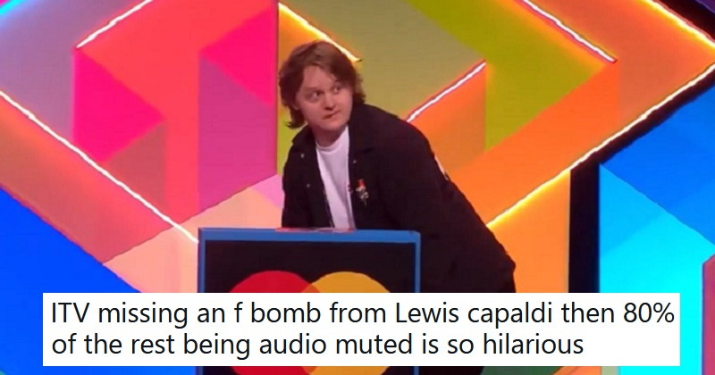 Lewis Capaldi's Brit Awards speech was almost entirely censored – 8 winning reactions - the poke