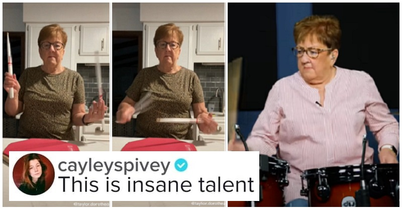 This drumming grandma has gone viral because she has mad skills - the poke