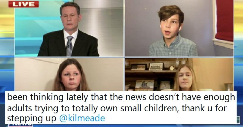 A Fox News presenter snapped at a sixth-grader for praising Joe Biden – the best takedowns