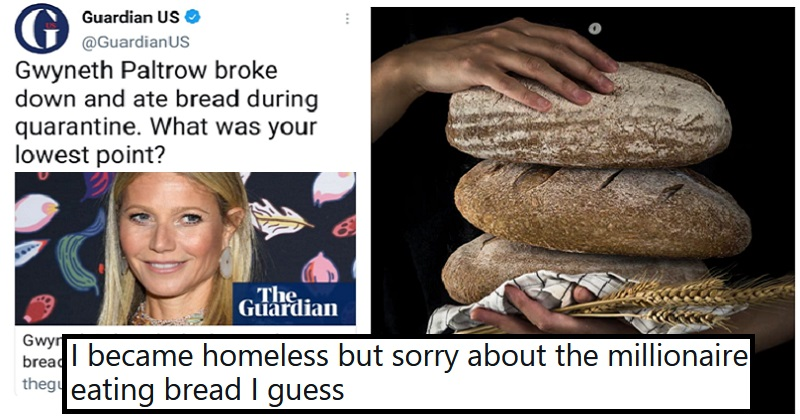 The best takedowns of Gwyneth Paltrow for 'confessing' to eating bread during lockdown - the poke