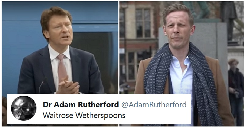 The funniest responses to Laurence Fox and Richard Tice opening an anti-woke pub - the poke