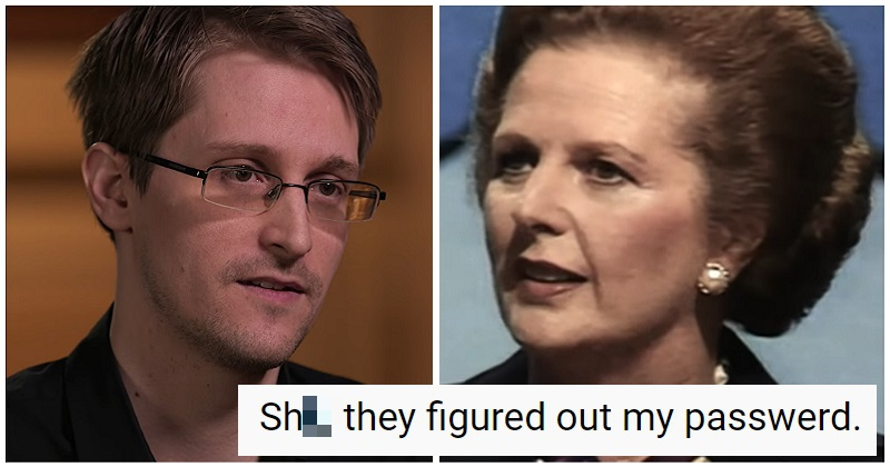 One of Edward Snowden's password tips might leave you needing mind bleach