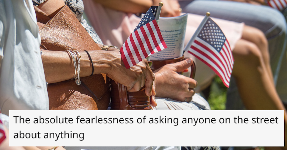 17 things Americans don't know they do that gives away they're American - the poke