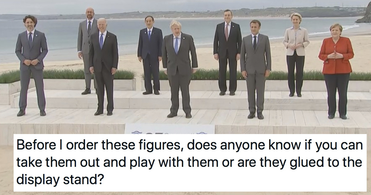 Funniest 13 things people said about that G7 photo of all the world leaders together