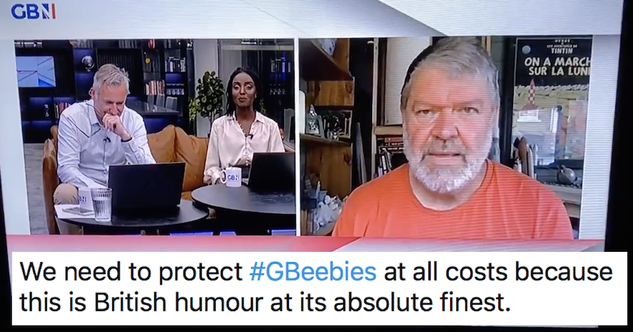 This GB News presenter got Covid and computer viruses mixed up and it's our favourite gaffe so far