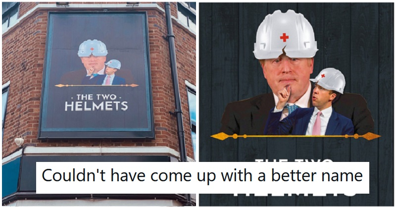 A Merseyside pub's latest rename throws two fingers up to the government
