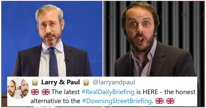Larry and Paul's alternative briefing says what the real one would never dare - the poke