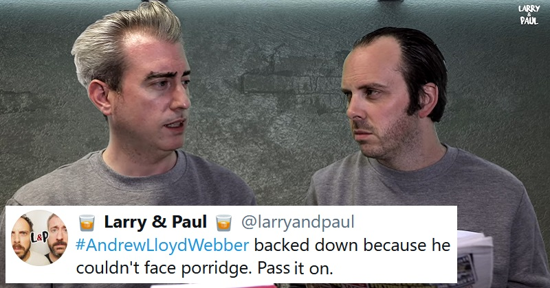 Andrew Lloyd Webber in Jail is Larry and Paul's magnum opus for Freedom Day