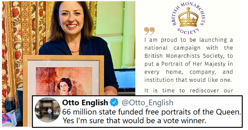 A Tory MP wants taxpayer-funded portraits of the Queen for all – these 12 reactions paint a different picture