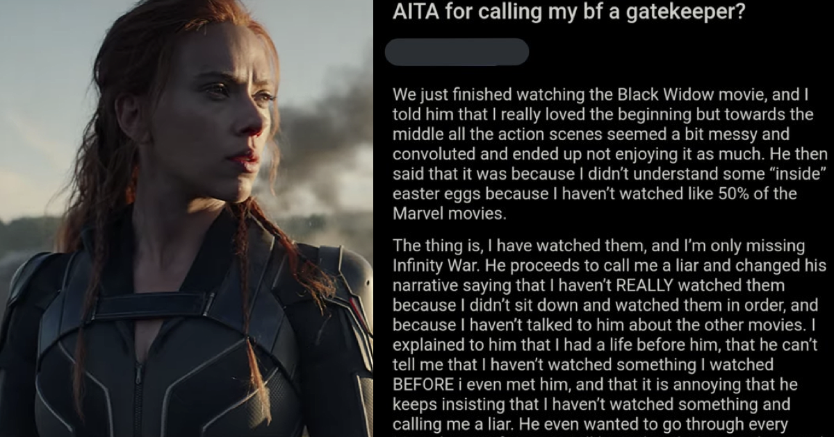 Woman dumps guy who said she keeps getting Marvel wrong and the entire internet cheered - the poke