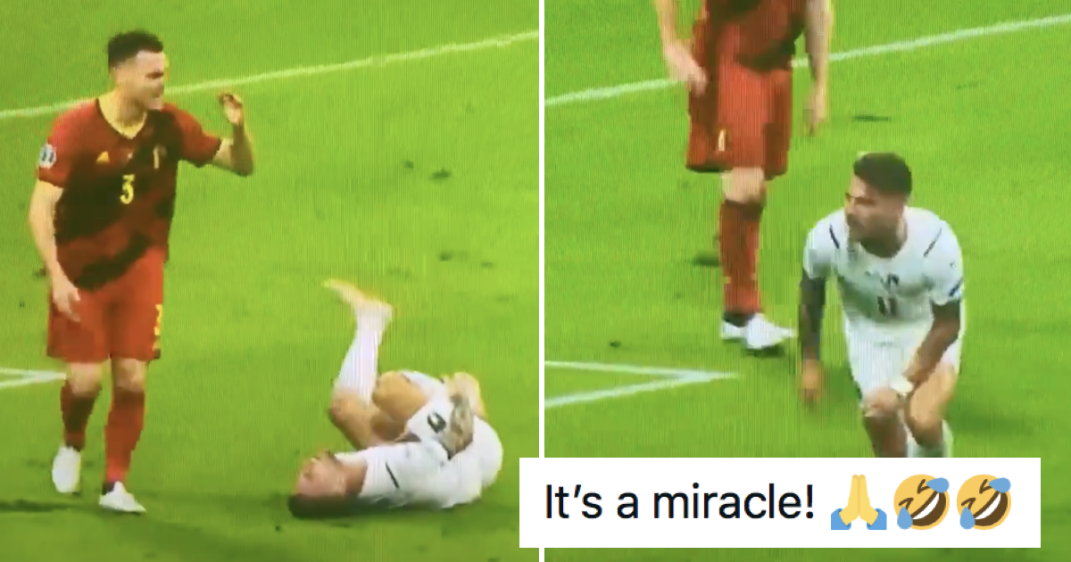 This 'injured' Italian's miracle recovery when Italy score is the Euros' funniest moment – 11 winning responses