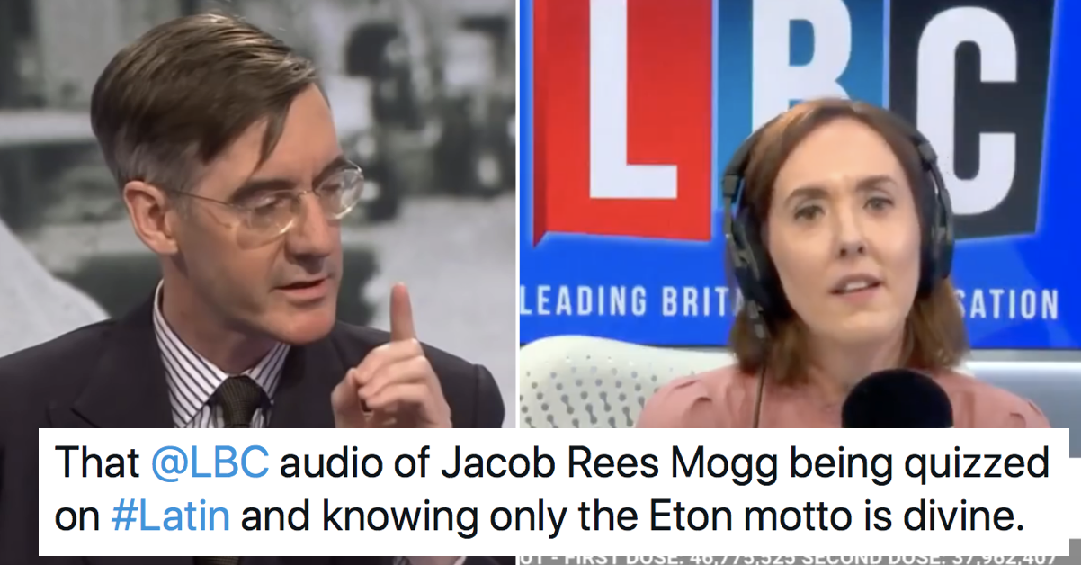 Jacob Rees-Mogg failing a Latin test on live radio is making everyone's day better - the poke