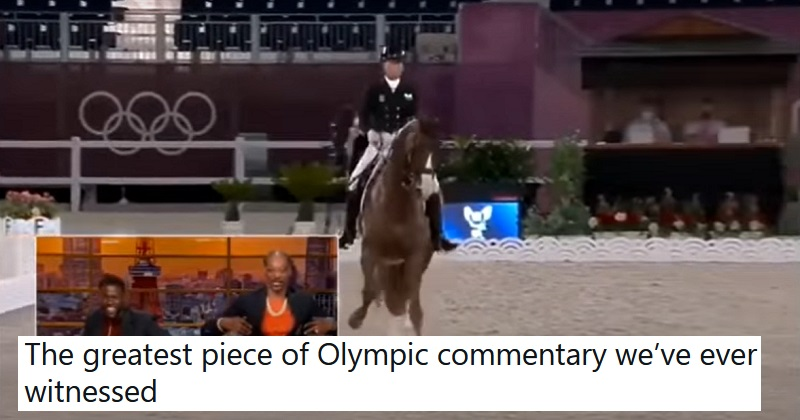 Snoop Dogg had the most Snoop reaction to Olympic dressage and it's a NSFW delight - the poke