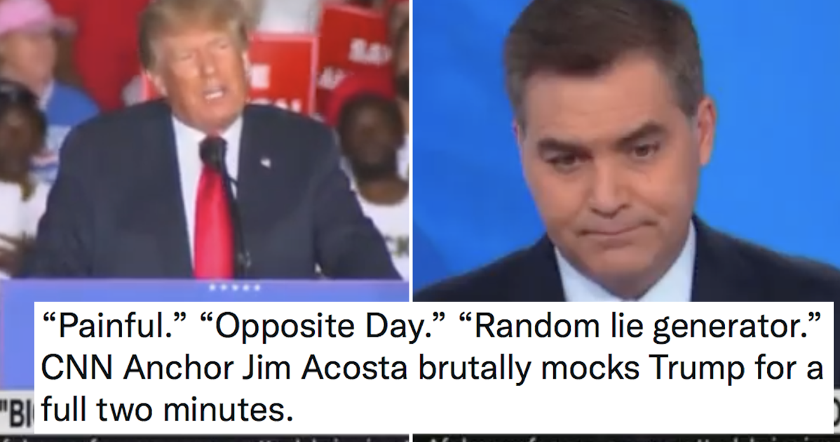 This CNN anchor's 'exiled Twitter junkie' Trump rant is simply brutal - the poke