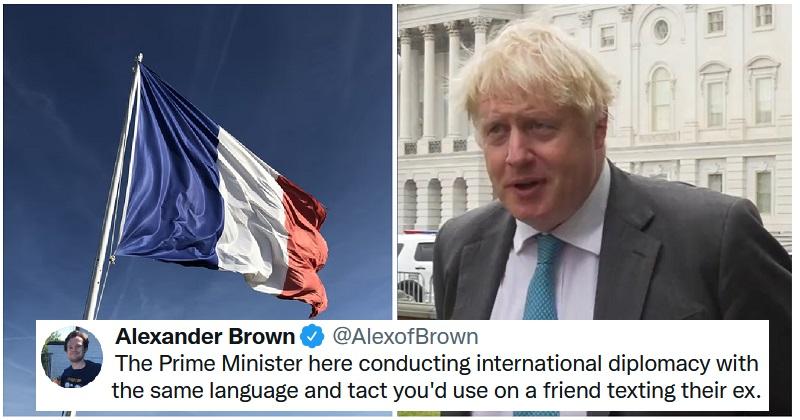 Boris Johnson's Franglais dig at Emmanuel Macron showed an entente pas très cordiale