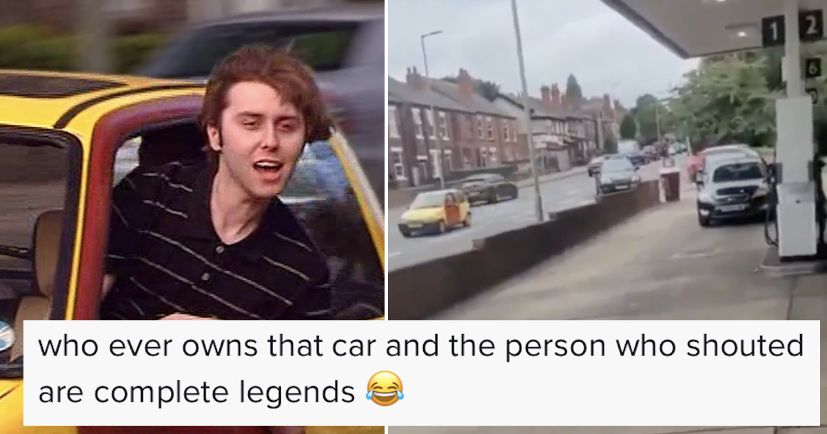 This 'Inbetweeners' takedown of people panic buying petrol is today's most British thing - the poke